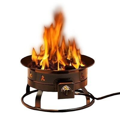 Smokeless 58000 BTU Propane Fire Pit Portable for Outdoor Patio and Camping