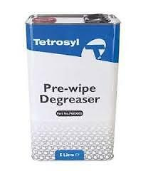 1 x Tetrosyl Pre Wipe Degreaser Panel Wipe 5L *For Cleaning Removing Oil Grease*