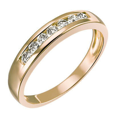 Goldmaid Memoire Ring Trauring 585er Gelbgold 0,25 ct. 7 Lupenreine Brillanten