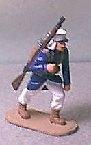 TOY SOLDIERS METAL FFL FRENCH LEGIONNAIRE MARCHING 54MM