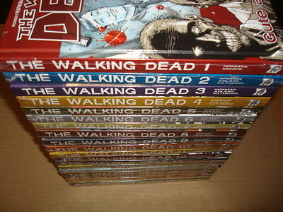 The Walking Dead (Crosscult) Bereich Nr.1 bis aktuell Neuware in deutsch HC
