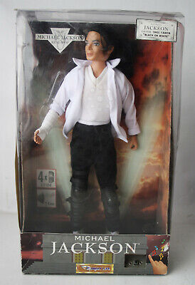 "Rare 1995 Michael Jackson 12"" Singing Doll Black Or White Street Life New Sealed"