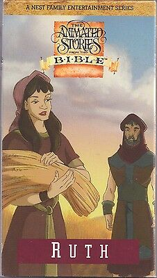 animated stories from the bible ruth vhs