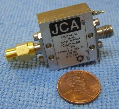 Jca Model Jca12-488 Microwave Amplifier.