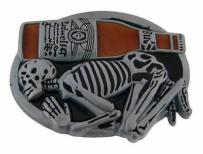 Bottle Openers Belt Buckle Skull Gothic Tribal Tattoo Goth Metal Vintage Fashion