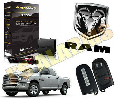 Plug & Play Remote Start System 2013 2014 2015 2016 2017 2018 Dodge Ram 1500