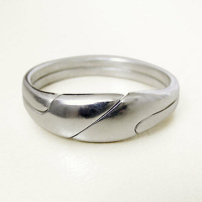 (REYES) Unique Puzzle Rings - Sterling Silver - Any Size