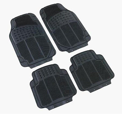 Rubber PVC Car Mats Heavy Duty 4pcs to fits Volvo S40 S60 850 940 960 C30 C70