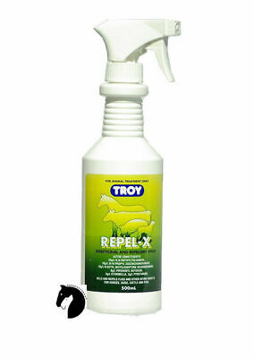 New Repel X Insect fly Repellent for Horses Dogs Cats Pigs Cattle animals 500ml