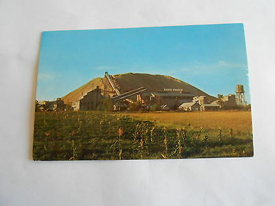 Cool Vintage Lead & Zinc Mine Seen from Will Rogers Turnpike Miami OK Postcard