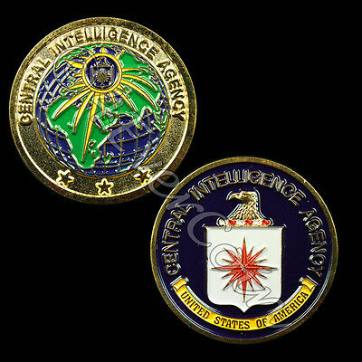 CIA (Central Intelligence Agency)  Challenge Coin