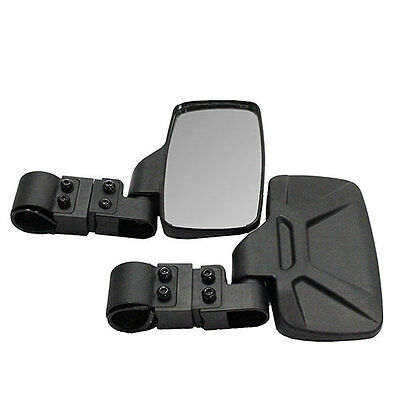 """2 Bad Dawg Breakaway Side View Mirrors for Side x Side UTV's w/ 1.75"""" Roll Cage"""