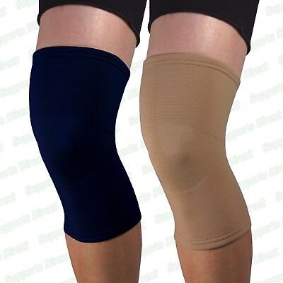 1 Quality Elastic Compression Knee Support Sleeve Brace Patella Injury Arthritis