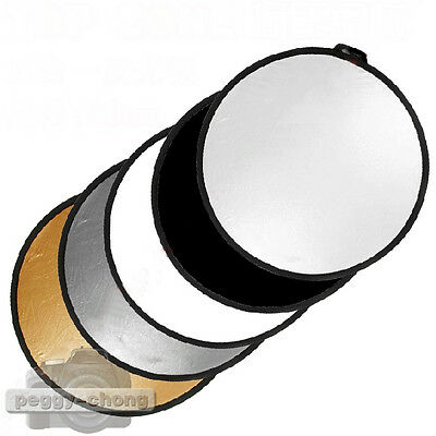 60 80 110cm 5in1 Photography Studio Multi Photo Disc Collapsible Light Reflector