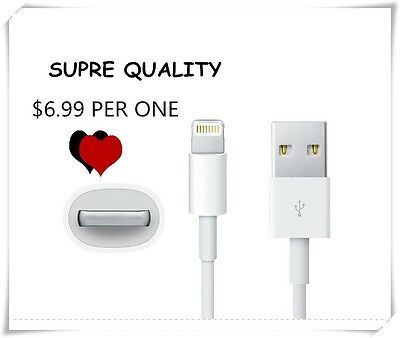 (HIGH QUALITY)USB Cable Charger Data Sync for iPhone 5 iPod Touch 5th Nano1 PCS