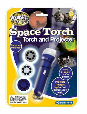 Brainstorm Space Torch Projector Educational Science Solar System