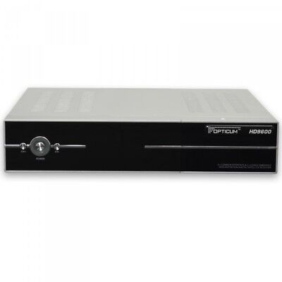 Opticum HD 9600s PRIMA 2CI2CX HDTV FullHD SAT Receiver in Silber 9600 Digital