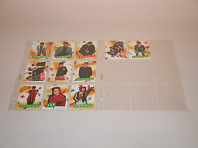 New Kids On The Block  Stickers 1-11 Topps 1989  Mint
