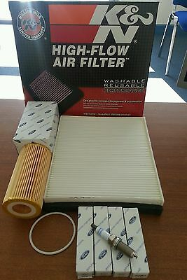 Ford Focus ST225 service kit K&N filter RS Plugs