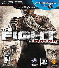 The Fight: Lights Out  (Sony Playstation 3, 2010)  BRAND NEW!!!!  Sealed!