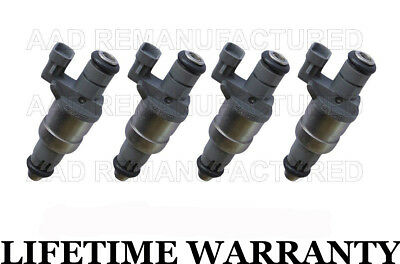 *Cleaned /& Flow Tested* Fuel Injector Set for Chevrolet 2.2 12571863 4