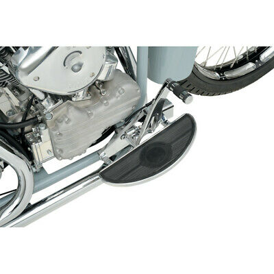 Drag Chrome Half-Moon Low Profile Driver Floorboards Harley Touring Softail FLD