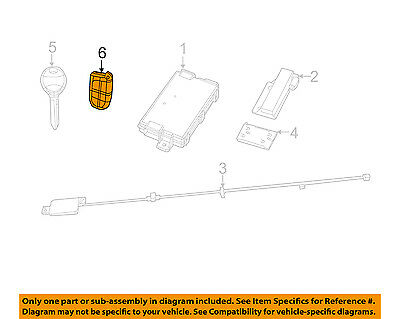 CHRYSLER OEM 11-14 300 Keyless Entry-Transmitter 56046759AE