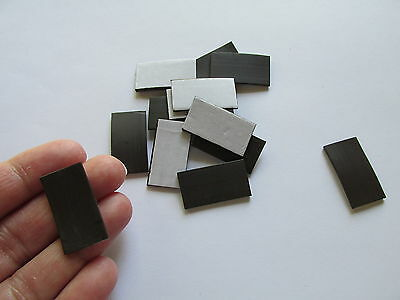 72 SELF-ADHESIVE Rectangle Strip MAGNETS school supplies teacher crafts FREE S/H