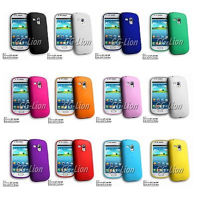 For Samsung Galaxy S3 Mini, G730V / i8190 Soft Silicone Case Skin