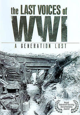 The Last Voices of WWI: A Generation Lost (DVD, 2011, 2-Disc Set) Survivors tell
