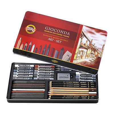 Gioconda Art Set 39-teilig Koh-I-Noor Skizzen Set