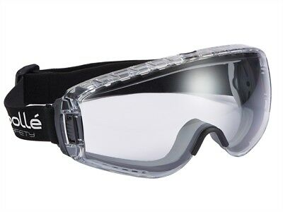 BOLPILOPSI - Bolle Pilot Clear Safety Goggles - Anti Mist