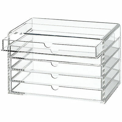 Sold Out - Muji Acrylic Case - 5 Drawers - Multipurpose/make Up Storage