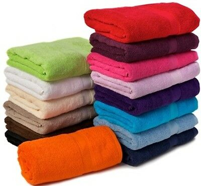 Plain Jumbo Bath Sheet In 100% Cotton | Red Fern Choco White Cream Purple Aqua