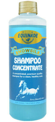 Equinade Showsilk Concentrated SHAMPOO Horse Dog Cat Bird Animal stables 500ml