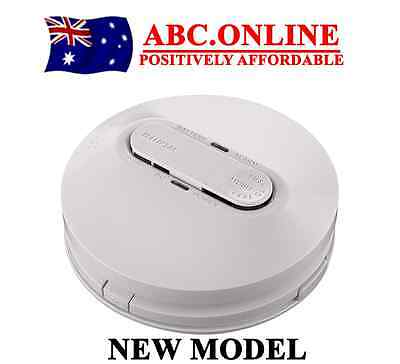 Clipsal Smoke Alarm Photoelectric Fire Detector Hardwire Backup Battery Surface
