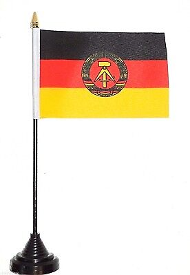 German Democratic Republic GDR East Germany 1959-1990 Polyester Table Desk Flag