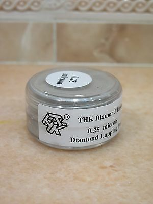 1 bottle THK 0.25 micron Diamond polishing lapping paste pastes compound 20 Gram