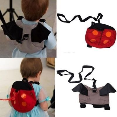 New Kids Baby Keeper Toddler Walking Safety Harness Backpack Bag Strap Rein B