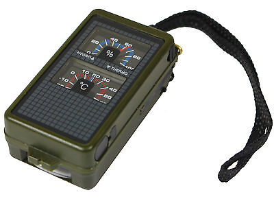 Tactical 10 FUNCTION Military COMPASS Army Hiking Orienteering Outdoor Equipment