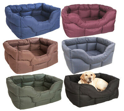 P&l Country Dog Superior Heavy Duty Rectangular Waterproof Dog Beds