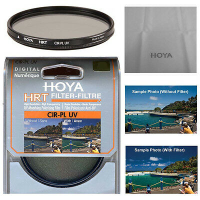 Hoya 58mm HRT Circular Polarizing / UV Haze Filter. U.S Authorized Dealer