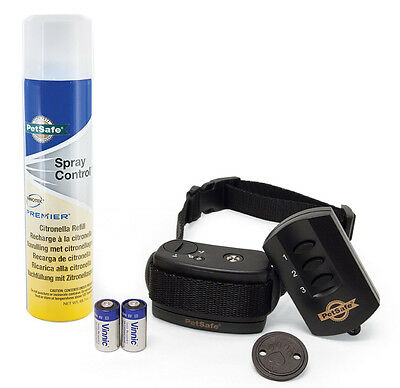 REMOTE SPRAY COMMANDER WATERPROOF DOG TRAINING COLLAR By Petsafe