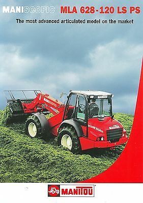 2002 Manitou Maniscopic Mla628 Loader Brochure
