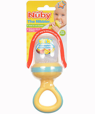 Nuby Nibbler with Ring Handle & Travel Cover