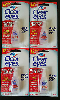 CLEAR EYES REDNESS RELIEF EYE DROPS 6ML/ 0.2oz - Expiry  02/2019