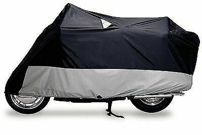 DOWCO Guardian Weatherall Plus Black X-Large Motorcycle Cover