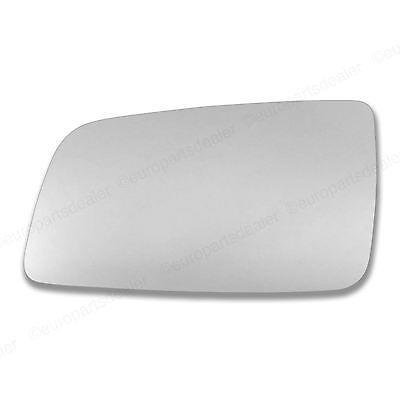 Passenger side Wing door mirror glass for Vauxhall Astra G 98-04 Stick on convex