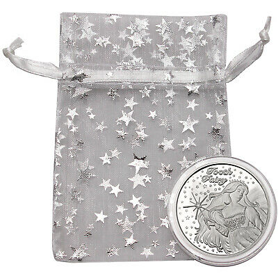 Tooth Fairy 1oz .999 Fine Silver Round by SilverTowne