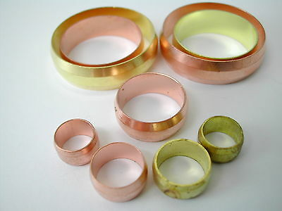 Olives For Compression Plumbing Fittings 8mm–28mm Brass & Copper Available